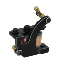 Free Shipping! Hot Professional Handmade Tattoo Machine Retail or Wholesale 10 Wrap Coils Machine 1100259