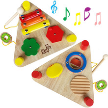 Music combination toy, multifunctional percussion instrument, children hand eye coordination ability, music perception toy(China)