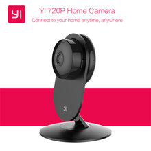 Xiaomi YI Home IP Camera 110 Degree Wide Angle HD 720P Two-way Audio Activity Alert Smart Webcam International Edition YI 720P