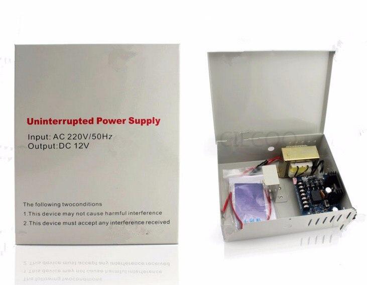 12V 3A Power Switching Supply  Backup Power for electric locks, strike lock, bolt lock, door access keypad<br>