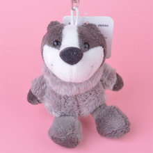 3 Pcs Skunks Small Plush Pendant Toy, Kids Doll Keychain / Keyholder Gift Free Shipping(China)