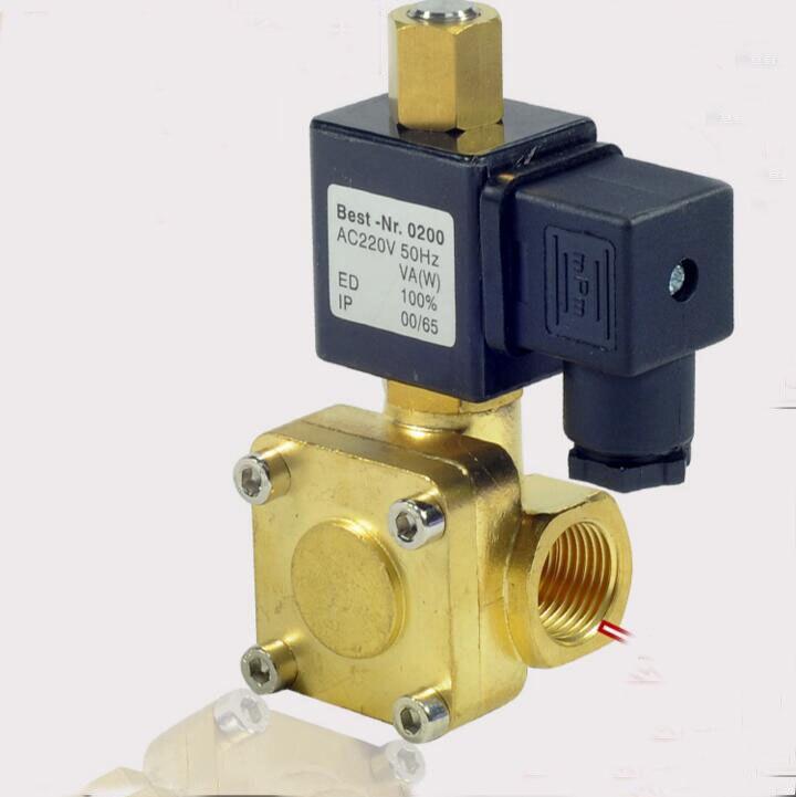 3/8 normally open solenoid valve water valve air valve 0955205 AC220V DC24V DC12 <br>