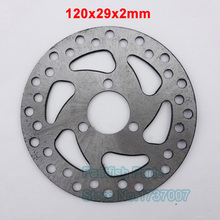 120mm Gas Brake Disc 120x29x2mm Scooter For 47cc 49cc 2 Stroke Pit Dit Electric Bike Minimoto ATV Quad
