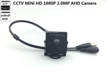CCTV HD-AHD 1080P 2.0MP 3.7mm lens Mini-box CCTV Security 2.0MP AHD Camera(China)