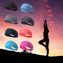 Non Slip Sweatbands Headbands Perfect for Yoga Basketball Running Football Tennis - Multi-function Athletic Sweatbands for Men(China)