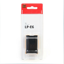 LP-E6 LP E6 LPE6 Rechargeable Camera Battery Pack For Canon EOS 5D2 5D3 5D 7D 6D 40D 50D 70D 60D 600D Mark II III 2 3 batteries