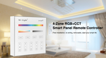 Milight B4 4-Zone RGBW RGB RGBW+CCT Smart Panel Remote Controller for led strip lights lamp bulb led tape ribbon Free shipping(China)