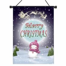Christmas Garden Flag Indoor Outdoor Home Decor Letters Flowers Flag drop shipping sep1