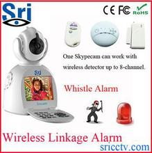 Factory Price Sricam SP003 3G Network P2P Free Video Call Wifi IP Security Camera Battery Operated Wireless IP Security Camera