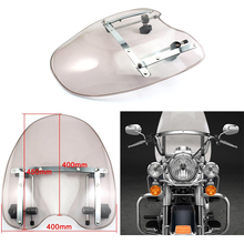 Motorcycle Handlebars Windscreen Windshield For Harley Davidson all models Road King Softail Dyna 1970-2015