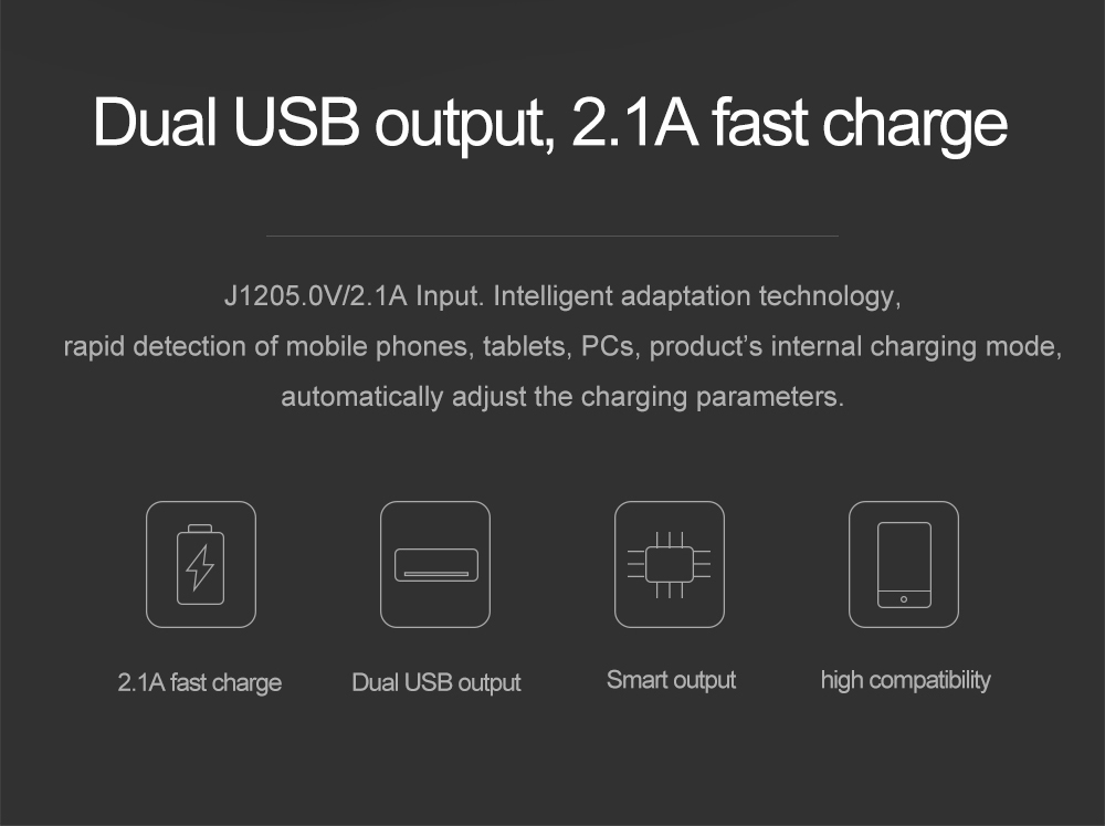ARUNJ120 Li-polymer Battery PowerBank12000mAh LED Lights External Battery 2 USB LCD Power Bank Portable Charger (4)