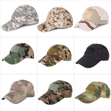 Adjustabel Hiking male hat Summer camping man's Camouflage Tactical hat army Fishing bionic Airsoft Baseball cadet Military cap(China)