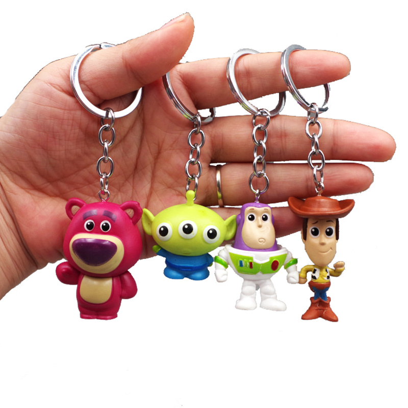 TOY STORY WOODY AND BUZZ KEYRING LLAVERO