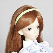 [wamami]789# OOAK Green&Dots Hair Band Hairpin/Clasp For 1/3 1/4 MSD AOD DOD BJD Dollfie(China)