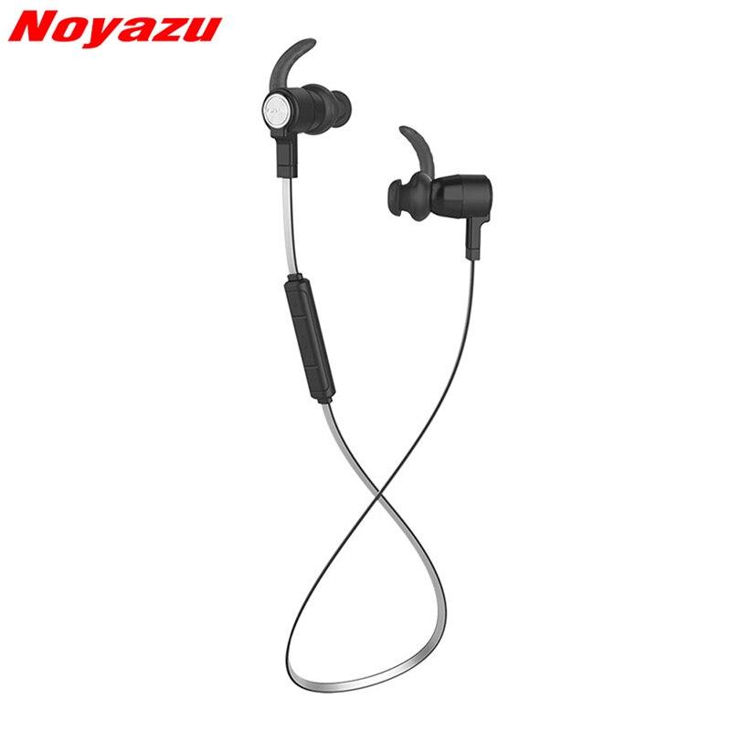 Noyazu Headphone  Bluetooth Earphone Sport Running With Mic Earbud Wireless Earphones Bass Bluetooth In-Ear Headset For Phone<br>