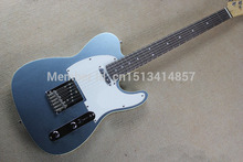Free shipping Chinese Factory Custom Shop  100% NEW Deluxe telecaster guitar metal gray color electric guitar