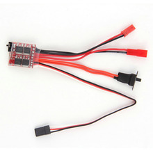 OCDAY RC ESC 20A Brush Motor Speed Controller w/ Brake for RC Car Boat Tank