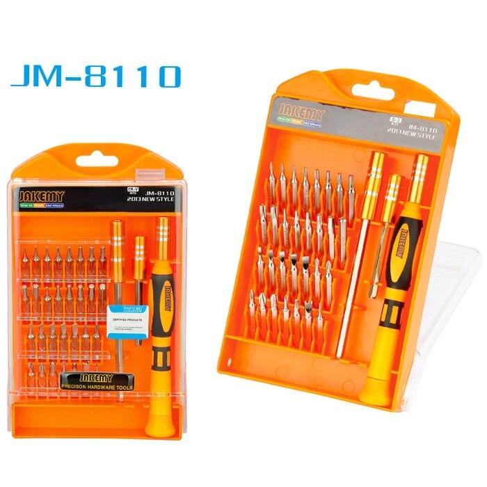 JAKEMY JM- 8110 33 in 1 Screwdriver Set Disassembled Tool<br>