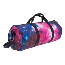 New Sport Outdoor Training Shoulder Gym Bag Men Woman Fitness Bags Starry Sky Female Yoga Bag