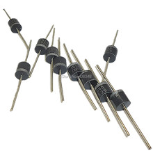 10pc 45v 15amp Axial Rectifier Blocking Diode High-Voltage Schottky Axial Rectifier Blocking Diode Universal For DIY Solar Panel