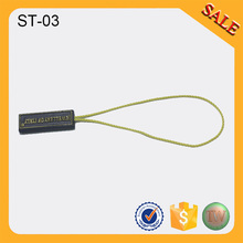 ST03Direct Factory custom jeans clothing nylon string plastic seal tags