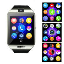 Buy 2017 Free Q18 Passometer Smart watch Touch Screen camera TF card Bluetooth smartwatch Android IOS Phone for $20.10 in AliExpress store