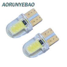 Buy 20X T10 cob Clearance Light LED CANBUS W5W 168 501 194 12V Interior Bulb License Plate Clearance Lights Car Styling for $7.48 in AliExpress store