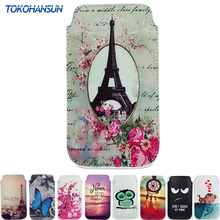 New For InnJoo Fire Case Cover pattern 9 Styles PU Leather Bag Flower Tower Cartoon Pouch Phone Cases TOKOHANSUN Brand