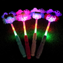 2017 Cartoon Bear Love Heart Light Sticks LED Lighting Wand Children Gift Toys Birthday Glow Party Decoration Supplies