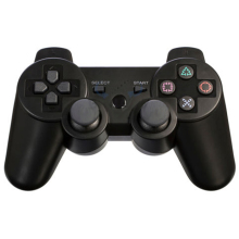 Bluetooth Wireless Double Vibration Controller Remote Joystick for Sony Playstation 3 PS3 Game Black Gamepad Accessories # F1079