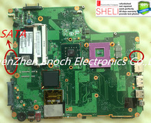 V000126550  for Toshiba Satellite A300 A305 motherboard 6050A2169901-MB-A02 SATA DVD GM45 for intel HD graphic SHELI stock