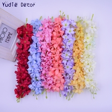 2pcs/lot  Valentine Gift  Artificial  Fragrant   harmless Plastic  Long hydrangea  flower  for wedding car   party decoration