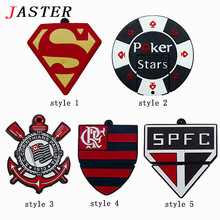 JASTER Football Team Logo usb flash drive Cartoon Team Logos pendrive 8GB 16GB 32GB usb 2.0 memory stick thumb drive