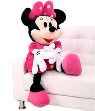 1pcs 35cm American edition one Pink Minnie Mouse Stuffed animals plush Toys High quality lovely gifts for your friends