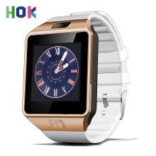 HOK Smart Watch DZ09 With Camera Bluetooth Support SIM TF Card For Android IOS With Retail Box Russia Original Smartwatch