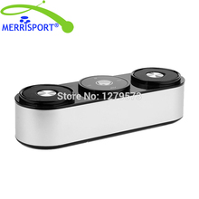 MERRISPORT Portable Bluetooth Surround Sound Speakers Wireless Stereo Speakers Powerful Bass and Clear with Built-In Microphone