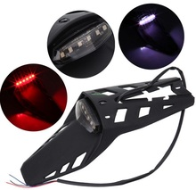 Dirt Bike Dual Sport Off-Road LED Rear Fender Brake Tail Light Lamp Taillight