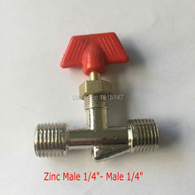 Zinc Connecter M1/4''-M1/4'' air compressor spare parts