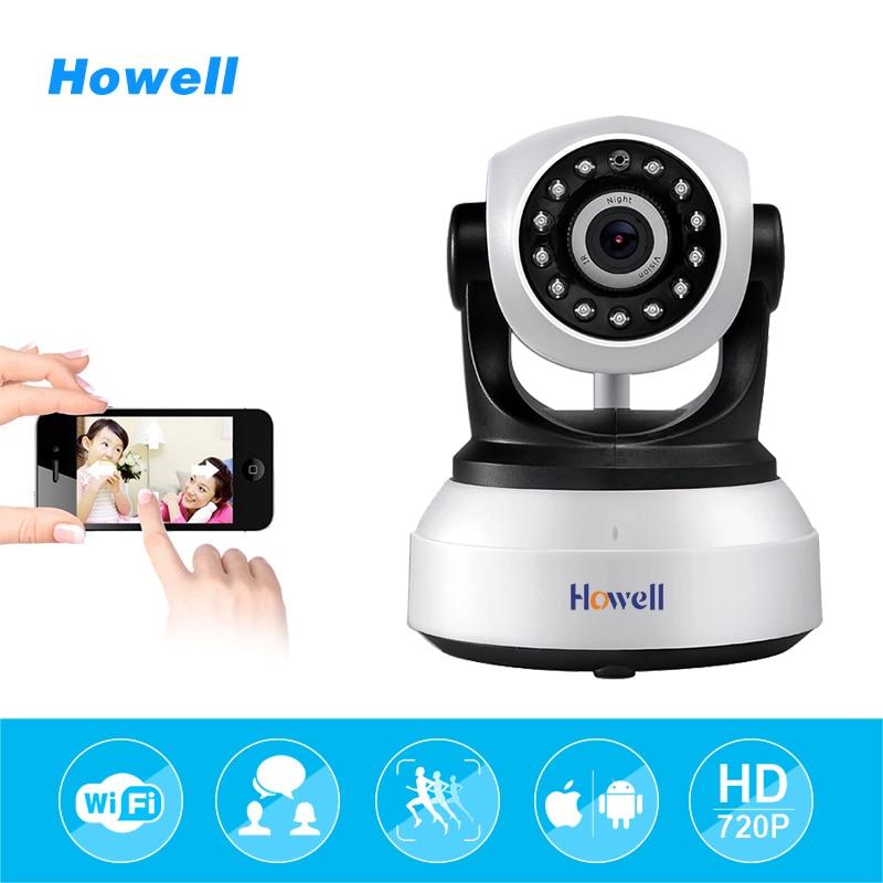 Howell HD 720P Wireless Security IP Surveillance Camera Wi-fi IR-Cut Night Vision 2 way Audio Network Indoor Baby Monitor Camara<br>