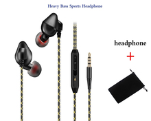 Original FG002 bass earphone sport headphones music Headset with microphone for iPhone xiaomi samsung huawei sony oppo phone mp3(China)