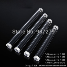 "High Transparent Acrylic Tubes (Rigid/Hard Tube) Adapter G1/4"" ----- 140/160/180/200mm (4Lots)"