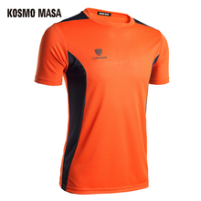 KOSMO MASA 2017 Quick Dry T-Shirt For Men O-Neck Summer Breathable Mesh Fitness Hip Hop T-Shirts Men's Jersey T Shirt TS0058(China)