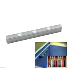Hot Sale LED Drawer Cabinet Light Motion Activated Sensor Bright LED Lamp Bulb Home Decor