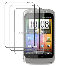 3pcs/lot New Clear LCD Screen Protector Protective Film Cover for HTC Wildfire S(China)
