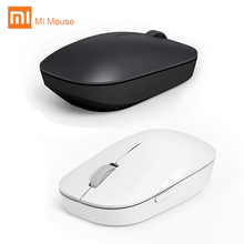 Original Xiaomi Mouse WSB01TM RF 2.4G 1200DPI 4 Buttons Mi Wireless Mouse Portable Mouse Optical For Macbook Windows 8/10 Laptop(China)