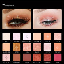 Hot sale Professional 18 Full Color Matte Diamond Glitter Eyeshadow Palette Makeup Eyeshadow Palette Cosmetics(China)
