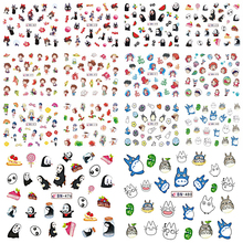 SWEET TREND 12 Designs Cartoon Nail Art Water Transfer Stickers New Fashion Tips Nail Beauty DIY Tool For Nail Decor BEBN469-480(China)