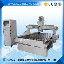 Vacuum table CNC 1325 router machine with 3/4.5 kw spindle