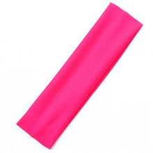 New Elastic Headband Sports  Accessory Dance Biker Wide Comfortable Headband Stretch Ribbon Hairband CC2300
