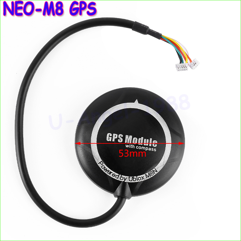 1pcs NEO-M8 GPS Module with Black Shell Case for APM 2.6 2.8 Flight Controller<br><br>Aliexpress